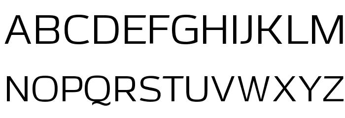Azoft Sans Font UPPERCASE