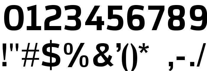 AzoftSans-Bold Font OTHER CHARS