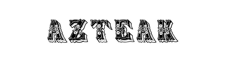 Azteak  免费字体下载