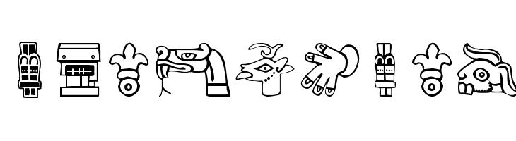 Aztekbats  les polices de caractères gratuit télécharger