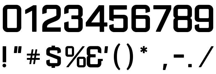AzureoN Шрифта ДРУГИЕ символов