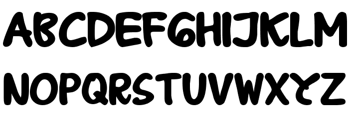 B Prahara TH_Tlsn Tgn Bold Font Litere mari