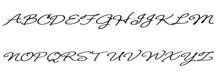 B de bonita regular Schriftart Groß