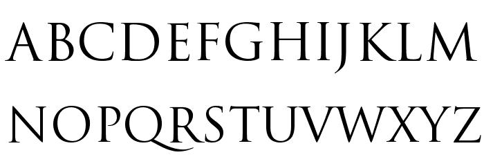 Baanoo Font UPPERCASE