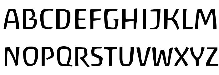 Baar Antropos Font UPPERCASE