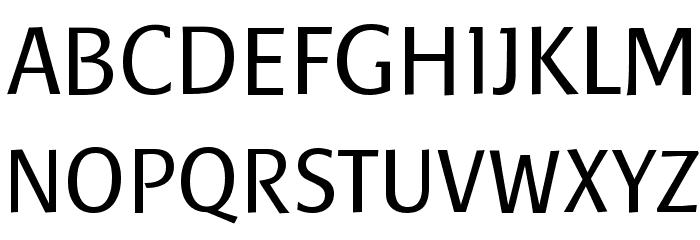 Baar Sophia Font UPPERCASE