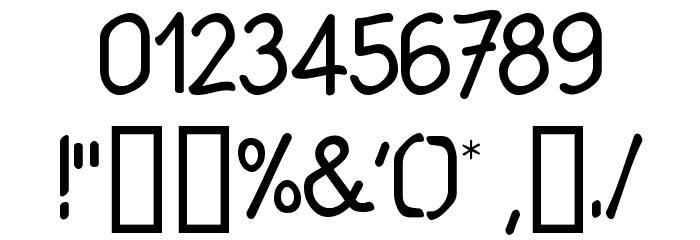 Babiole Light Font OTHER CHARS