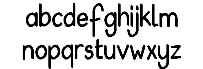 Babiole Light Font LOWERCASE