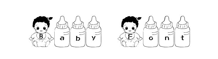 Baby Font  नि: शुल्क फ़ॉन्ट्स डाउनलोड
