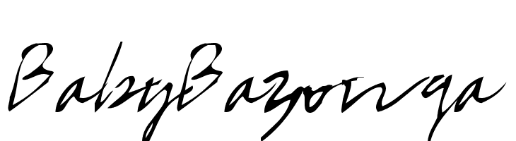 BabyBazonga  Free Fonts Download