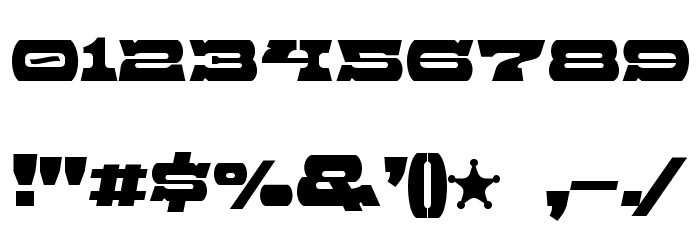 Baccer Font OTHER CHARS