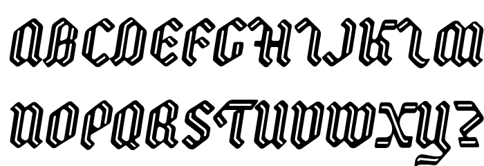 Backyard PERSONAL Italic Fonte MAIÚSCULAS