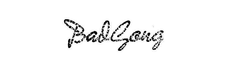 BadGong  Free Fonts Download