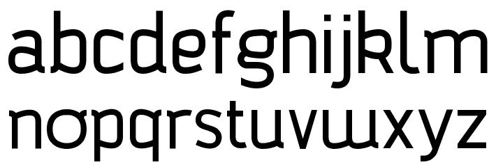 Bagadek Font LOWERCASE