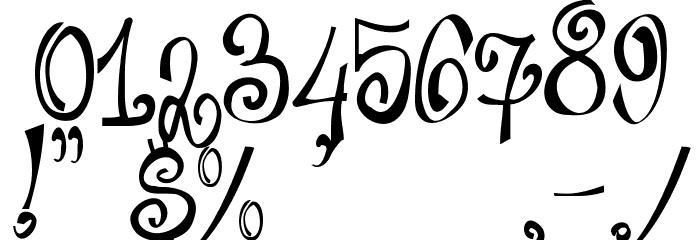 Bajareczka Font OTHER CHARS