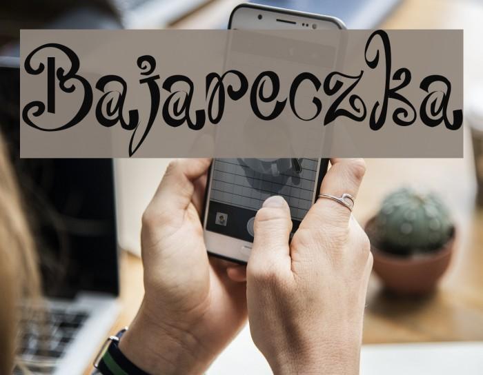 Bajareczka फ़ॉन्ट examples