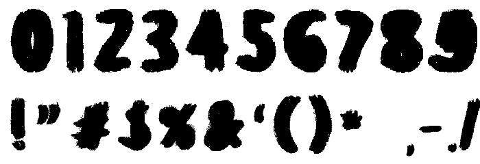 Balballa Font OTHER CHARS