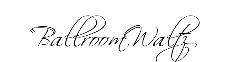 BallroomWaltz  font caratteri gratis