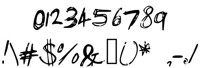Bam_s_Notes Schriftart Anderer Schreiben