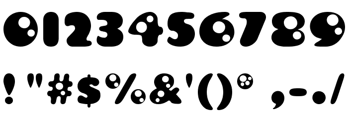 Bambina Font OTHER CHARS