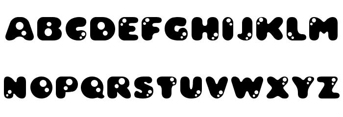 Bambina Font UPPERCASE