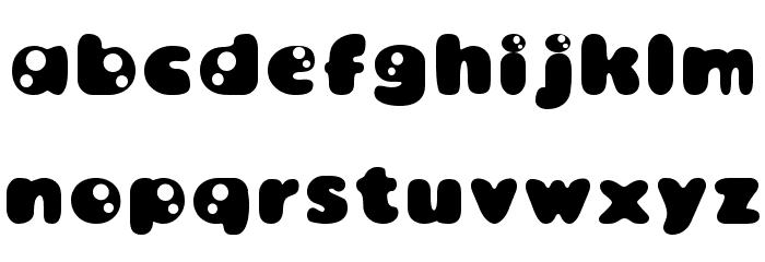 Bambina Font LOWERCASE