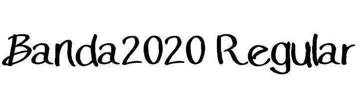 Banda2020 Regular  baixar fontes gratis