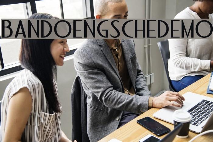 BandoengscheDEMO Fuentes examples