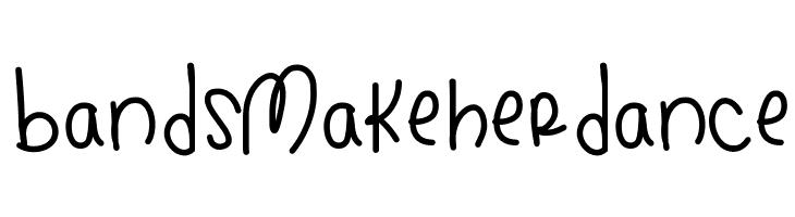 BandsMakeHerDance Font
