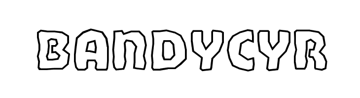 BandyCyr  Free Fonts Download