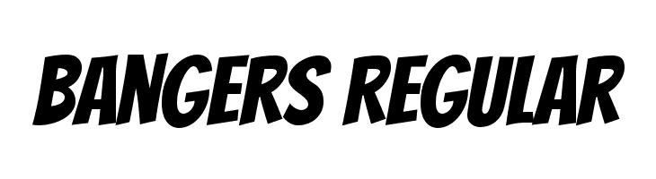 Bangers Regular  Fuentes Gratis Descargar