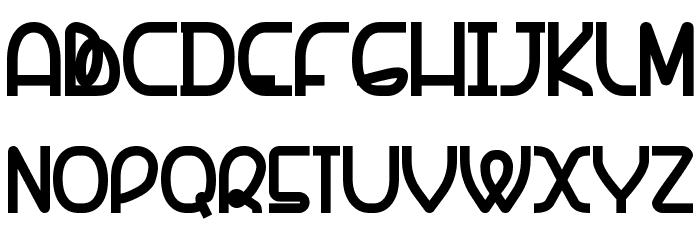 Banquetier-Black Font LOWERCASE