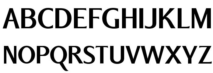 Baqacents Semi Bold Font UPPERCASE
