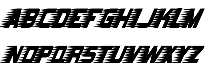 Barbatrick-Regular Fonte MAIÚSCULAS