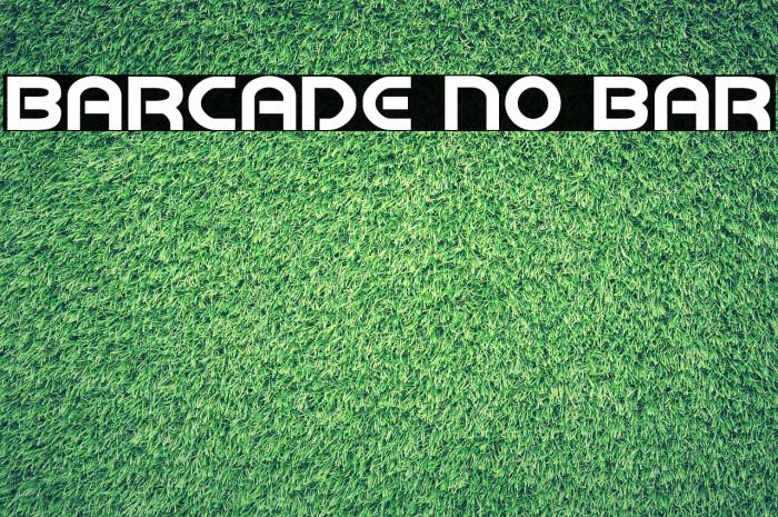 Barcade No Bar لخطوط تنزيل examples