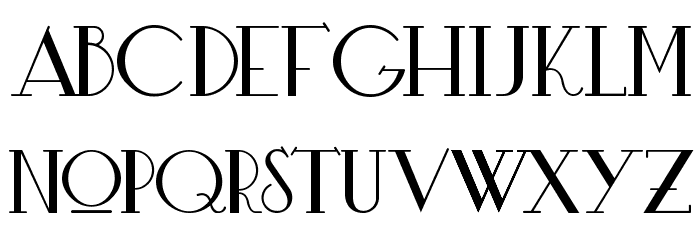 Bardo Шрифта строчной