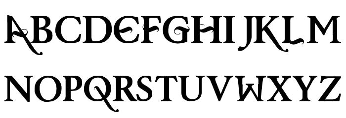 Baris Cerin Regular Font LOWERCASE