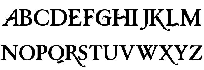 Baris Cerin Regular Font UPPERCASE