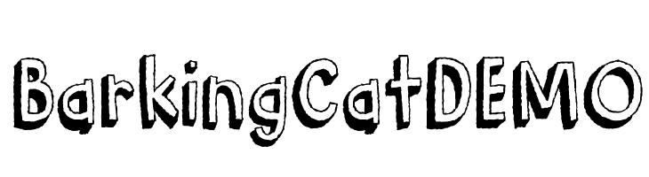 BarkingCatDEMO  Descarca Fonturi Gratis