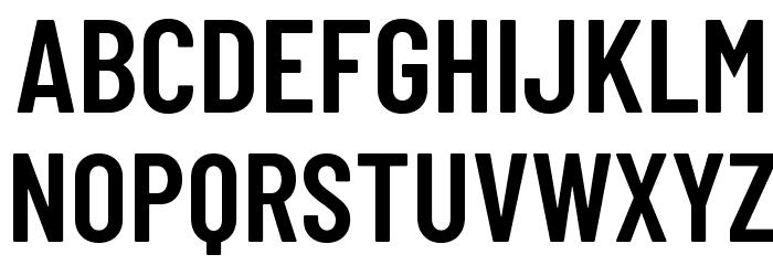 Barlow Condensed SemiBold Шрифта ВЕРХНИЙ