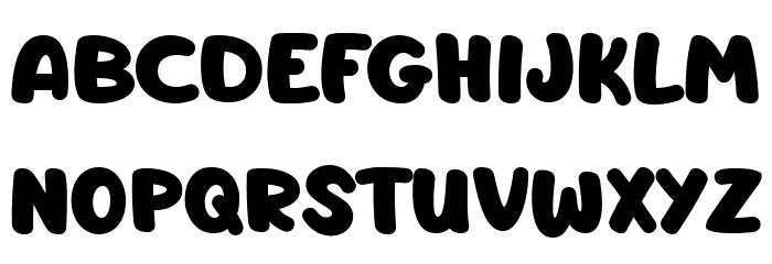 Barnacle Boy لخطوط تنزيل الأحرف الكبيرة