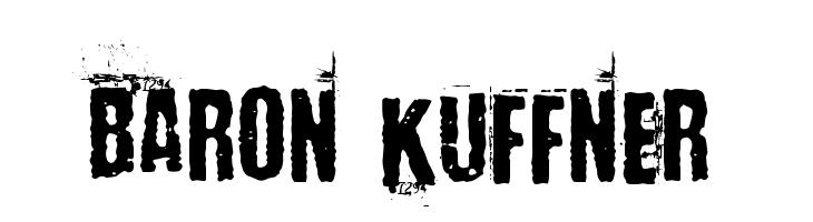 Baron Kuffner  Free Fonts Download