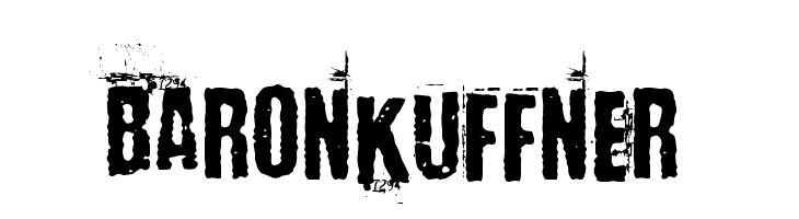 BaronKuffner  baixar fontes gratis