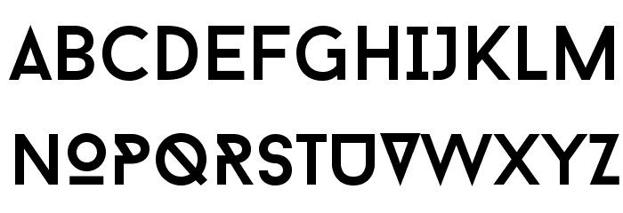 BaronNeue Font UPPERCASE
