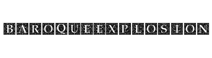 Baroque Explosion  Free Fonts Download