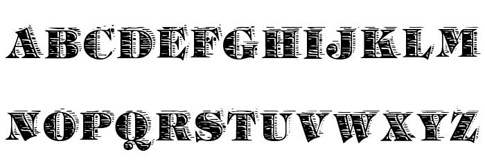 Barrelhouse All Caps Schriftart Kleinbuchstaben
