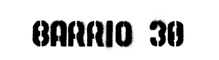 Barrio 30  Free Fonts Download