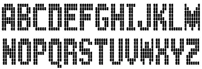 BartonBus Font UPPERCASE