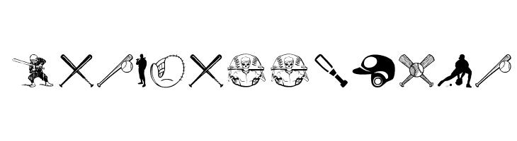 Baseball Icons  नि: शुल्क फ़ॉन्ट्स डाउनलोड