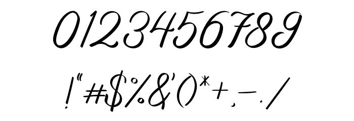 Basheera フォント その他の文字